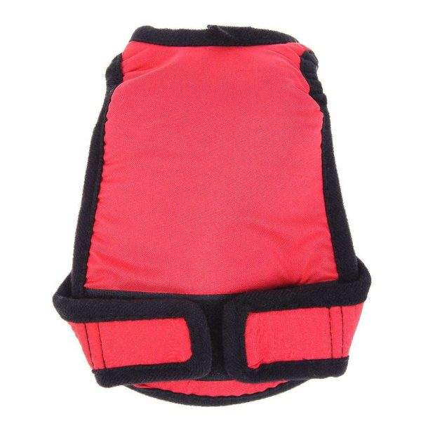 Female Dog Shorts Pet Puppy Sanitary Physiological Pants Underwear(Red 2XL)