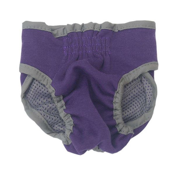 Pet Dog Physiological Pants Puppy Diaper Anti Harassment Underwear(Purple/S