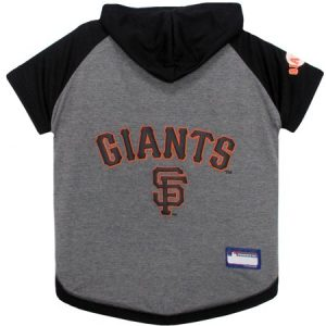 Pets First MLB San Francisco Giants Hoodie Tee Shirt