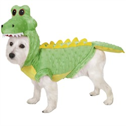 Casual Canine Crocodile Costume, X-Small