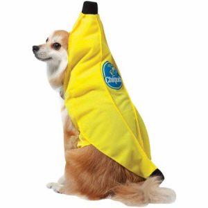Chiquita Banana Dog Costume, Small