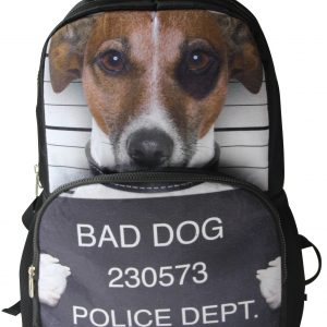 AnimalFace 3D Bad Dog Backpack