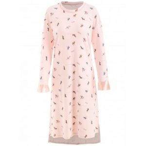 Dog Print Nightgown Dress