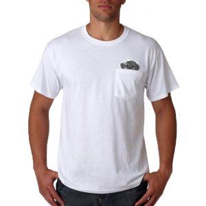 Pocket Puppy T-Shirt - Mens Small