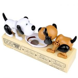 Creative Electric Greedy Coin Bank Steal Money Dog Toy for Kids